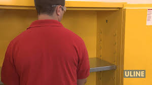Flammable Cabinets Grounding Requirements by Flammable Storage Cabinets Youtube