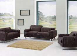 Furniture Dark Brown Leather Single Sofa By Darvin Furniture For