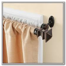 Curtain Rod Bracket Extender Walmart by Double Curtain Rod Brackets Double Wooden Curtain Rod Bracket