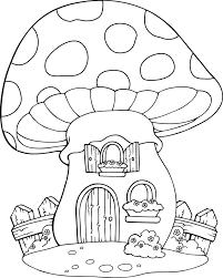 coloriage une maison chignon dory fr coloriages