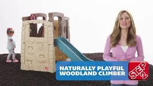 Step2 Playhouses Slides U0026 Climbers by Step2 Naturally Playful Woodland Climber Toys