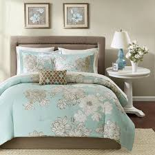 Bedroom Magnificent Brown And Teal Damask Bedding Brown And Teal