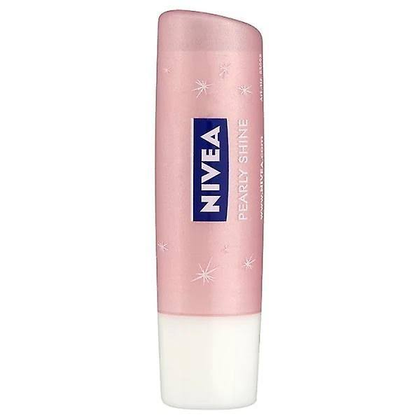 Nivea Pearly Shine Caring Lip Balm - 5ml
