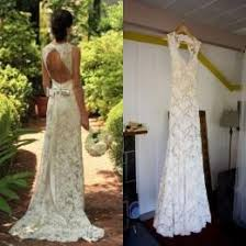 Lace Wedding Dresses Backless Country Bridal Gowns 2017 Spring Rustic Barn Sweetheart Keyhole Cheap Mermaid