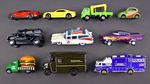 100 Go Cars And Trucks Learning Street Vehicles For Kids 6 Matchbox Hot Wheels Tomica