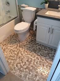 sliced java and white pebble tile pebble tile shop