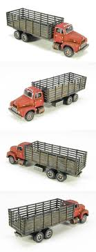 Scenery And Trees 31104: N Scale 50 S R-190 Stake Truck Kit By ...