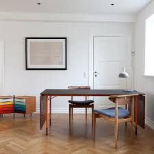 Nyhavn Dining Table W 2 Drop Leaves