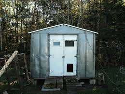 4x8 Metal Storage Shed by Can Metal Sheds Be Used As Coops Backyard Chickens