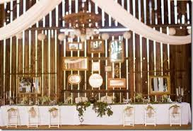 Rustic Country Wedding Reception Decorations