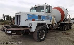 100 Ready Mix Truck 1979 International Paystar 5000 Ready Mix Truck Item DB858