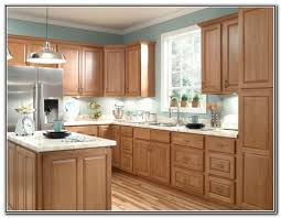 oak cabinet kitchen what paint color goes with light oak cabinets