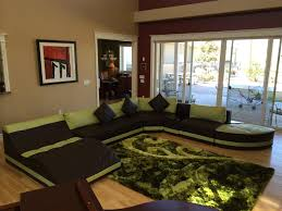 Black Sectional Living Room Ideas by Living Room Extra Large Dark Brown Leather Sectional Sofa With