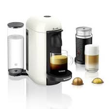 Nespresso VertuoPlus Coffee Maker Espresso By Breville With Aeroccino Milk Frother