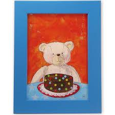 tableau ourson chambre bébé tableau chambre enfant ours cadre ours tableau ourson cadre