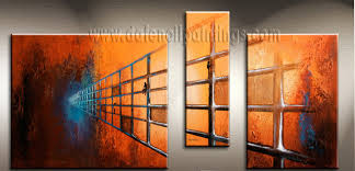 modern paintings on canvas abstract painting set09187