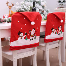 Veecome Christmas Non-woven Chair Cover Red Hat Chair Back Cover Xmas  Christmas Decoration For Home Party 1pcs Hudson Kids Table And Chairs Set Coverking Rnohide Customfit Seat Covers Farmhouse Rustic Holiday Birch Lane Eames Lounge Chair Ottoman Herman Miller Christmas Colour Schemes To Brighten Up Your Home Heritage Cafe Ding Pages A Colorful Adjustable By Vanguard Industries 23 White Decorating Ideas From A Romantic Nordic Centiar Room Ashley Fniture Homestore