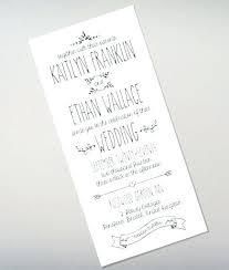 Easy Wedding Invitations Doodle Love Tall Invitation Diy Templates Uk