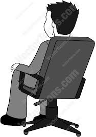 cartoon character sitting chair Google Search