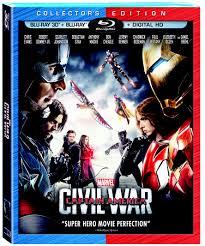 100 Blu Home Video Captain America Civil War Marvel Cinematic Universe