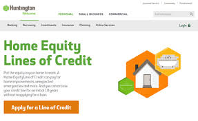 Huntington Home Equity Line of Credit Home Equity Line of Credit
