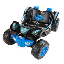 100 Monster Truck Power Wheels Desert Racer 12 Volt Battery Ed Ride On Vehicle