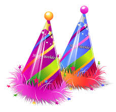Birthday Hat Happy Party Hats Transparent Clipart