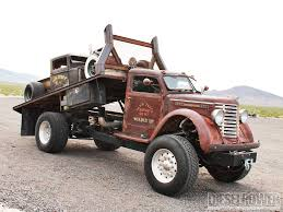 100 Rat Rod Semi Truck Vegas S Heaven 1947 Diamond T Hauler Madmax