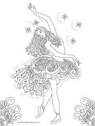 Nicoles Free Coloring Pages Ballerina Primavera Ballet Saige
