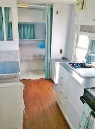 Thor Travel Trailer Redo Aqua Grey And White