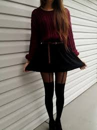 Cute Winter Dress Outfits Tumblr