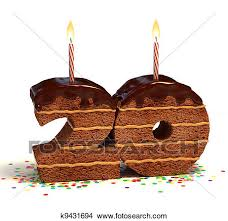 Drawing number 20 shaped chocolate cake Fotosearch Search Clip Art Illustrations Wall