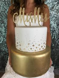 Gold Wedding Cake Topper Mr Mrs For Modern Beach Rustic