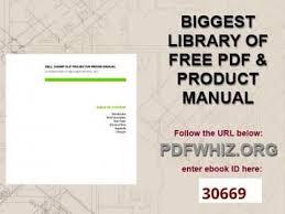 dell 2400mp dlp projector repair manual youtube