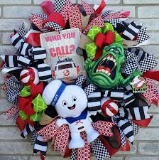 Grandin Road Halloween Wreath by Ghostbusters 2016 Wreath Who You Gonna Call Ghostbusters Ain U0027t