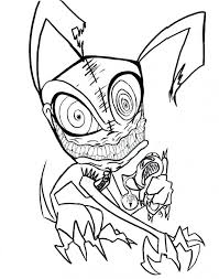 Printable Scary Halloween Pictures To Color Coloring Page Pages Spooky