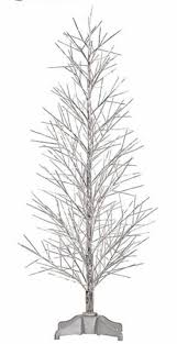 Fiber Optic Christmas Trees Walmart by Best 25 Pre Lit Twig Tree Ideas On Pinterest Twig Tree Twig