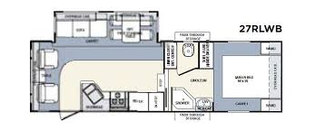 Montana Fifth Wheel Floor Plans 2006 by Preowned 2006 Forest River Wildcat 27rl Fifth Wheel Oklahoma City
