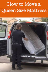 100 Home Depot Moving Trucks How To Move A Queen Size Mattress Insider