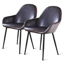 Costway: Costway Set Of 2 PU Leather Dining Chairs W/Armrest And ... 4 X Dutch Rosewood Dingroom Chair 88667 Sjlland Table6 Chairs W Armrests Outdoor Glassfrsnduvholmen Different Types Of Small Arm Chair Home Office Ideas Set 6 Black Metal Ding Room Chairs 1980s 96891 Sublime Gold Baroque Armrest Wooden Modern Room For Waiting Rooms Office With Georgian Style Ding Room Chairs Dark Cherry Finish By Designer Danish Wikipedia Saar By Piet Boon Collection Ecc Pladelphia Freedom Classic Arms 2 Cramco Inc Shaw Espresso Harvest Chenille Upholstered