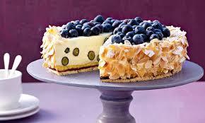 heidelbeer vanillecreme torte
