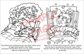 Christmas Coloring Book In Bulk Free Pages