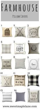 The Ultimate Roundup Of Farmhouse Pillow Covers
