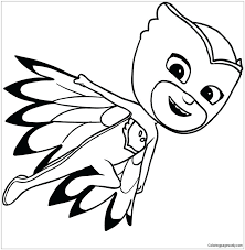 Pj Masks Coloring Pages Best Images On Of Page Romeo