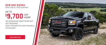 Pinegar Chevrolet Buick GMC Of Branson | Springfield, Ozark, MO And ... 2018 Gmc Sierra 2500hd 3500hd Fuel Economy Review Car And Driver Retro Big 10 Chevy Option Offered On Silverado Medium Duty This Marlboro Syclone Is One Super Rare Truck 2012 1500 Work Insight Automotive Gonzales Used 2015 Ford Vehicles For Sale 2017 2500 Hd New Sle Extended Cab Pickup In North Riverside 20 Denali Spied With Luxurylevel Upgrades Cars Norton Oh Trucks Diesel Max My 1974 Custom Youtube Pressroom United States