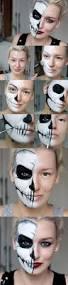 Halloween Half Mask Ideas by Best 25 Half Face Makeup Ideas On Pinterest Half Face Halloween