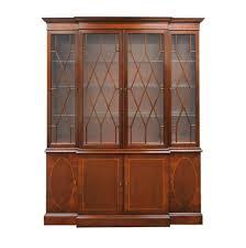 Pottery Barn Charleston Sofa Dimensions by Baker Furniture Historic Charleston Mahogany China Cabinet