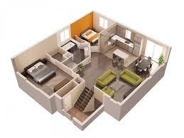 photo collection plan de maison 3d