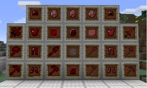 Redstone Lamps Plus 1710 by Ruby Mod Tools Items Weapons And More Minecraft Mods