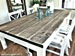 Endearing Design Your Own Dining Room Table Medium Size Of Round Wood Kitchen Sets Distressed